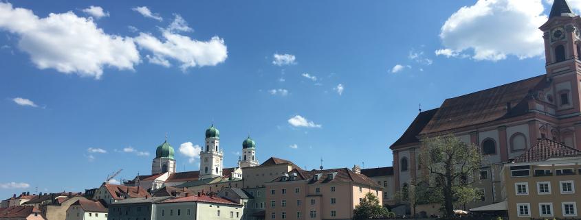 Passau - Wochenendevents Maibaumkraxeln