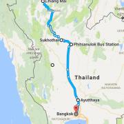 Urlaub Thailand - Norden - Reiseplanung