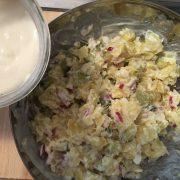 Kartoffelsalat + Cashew Mayo - vegan