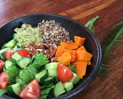 Rezept: Guacamole aka Avocadocreme mit Quinoa