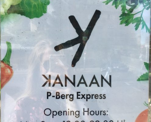 Berlin vegan - Kanaan - Öffnungszeiten