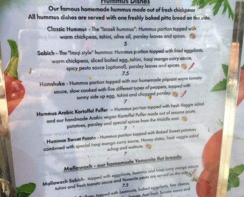 Berlin vegan - Kanaan - Hummus Dishes
