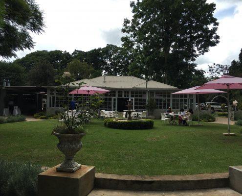 Restaurant - Queen of Hearts - Garten