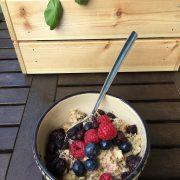 Rezept: Bratapfel-Orangen Porridge