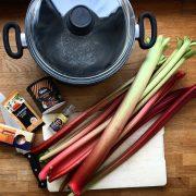 Rezept - Rhabarberkompott Zutaten & Vorbereitung