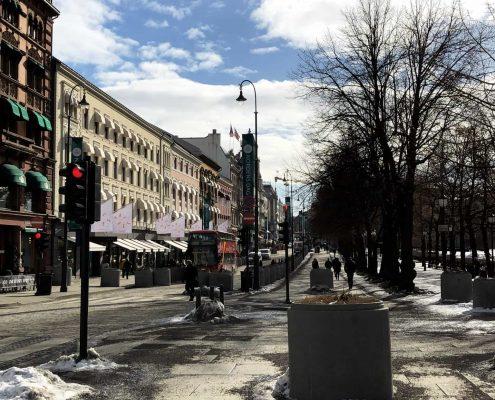Oslo - Karl Johans Gate