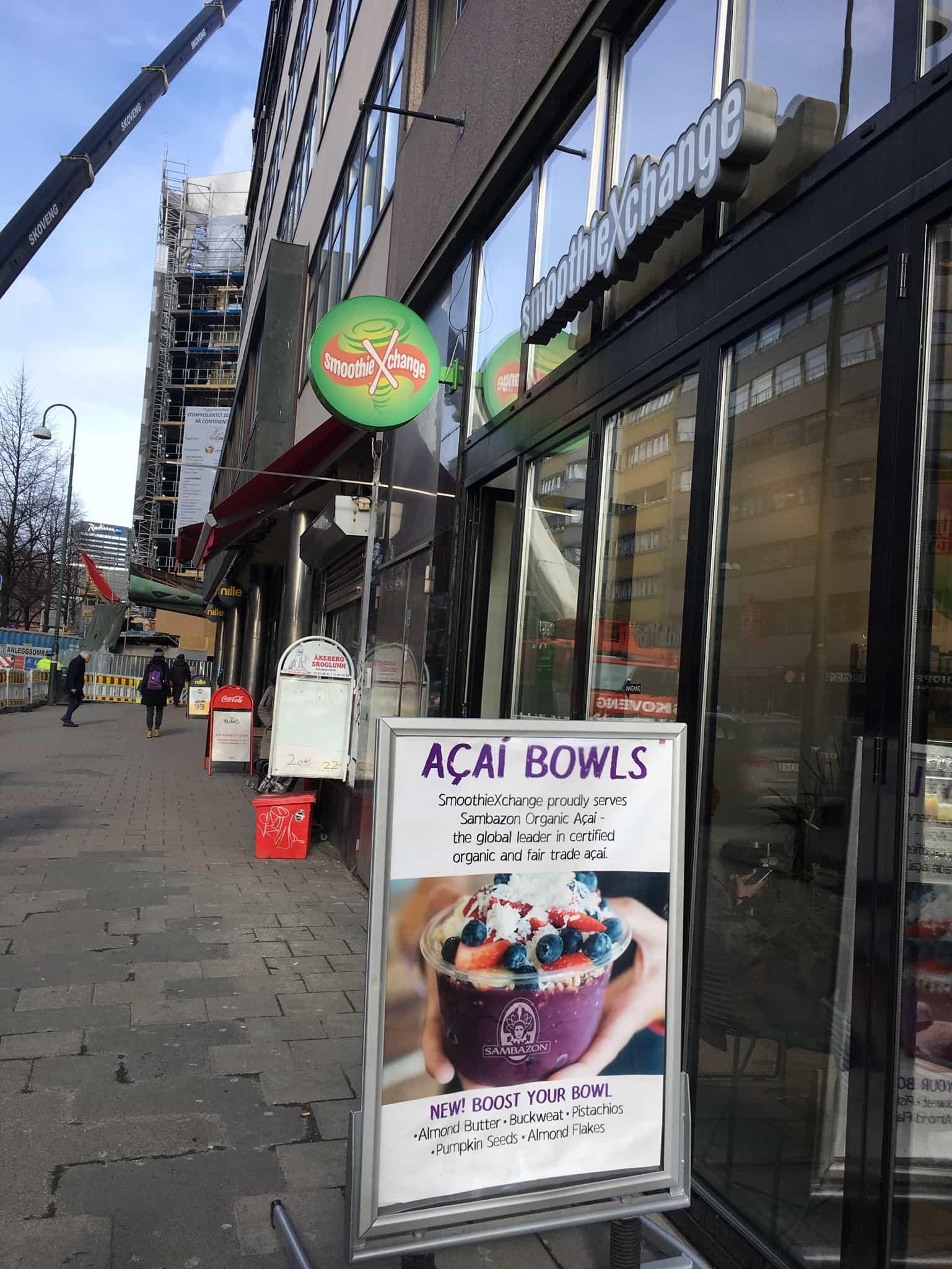 Oslo - smoothie Xchange