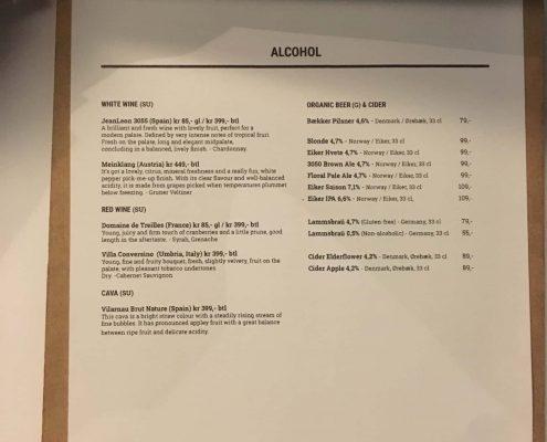 Oslo: Funky Fresh Foods - Alcohol